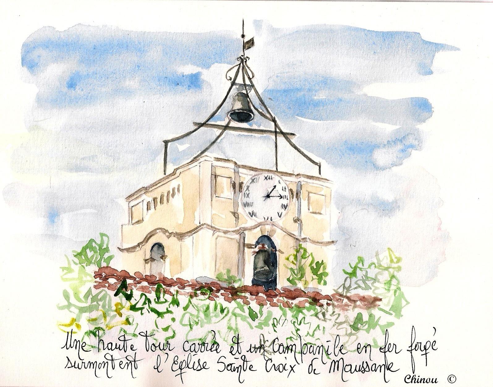 Maussane : campanile