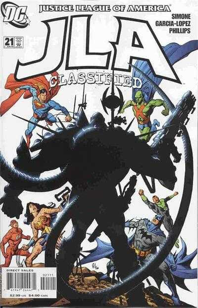 JLA classified 21