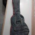 Housse de guitare, en jeans recyclés