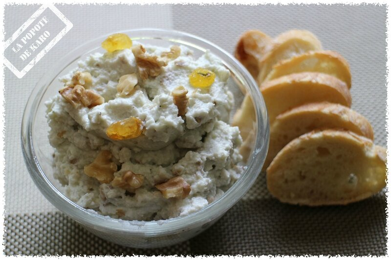 tartinade de roquefort