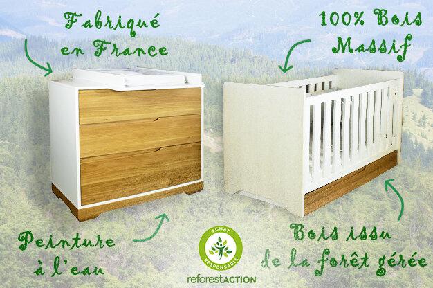 Aménagez la chambre de bébé Eco-responsable
