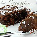 mini fondant au chocolat noir et au lait 2