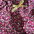 Culotte BIANCA en coton fleuri rouge - noued jaune (1)