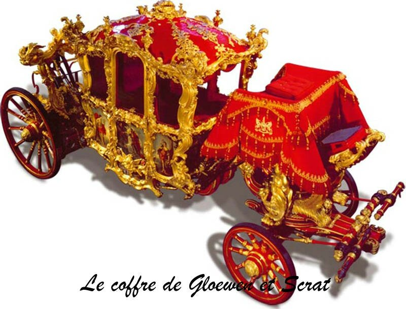 Voyage en angleterre, carrosse cendrillon : Lord Mayor show