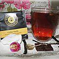 Thé noir ceylan vanille de la marque compagnie coloniale