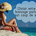 #revuesoleil → choisir entre un bronzage parfait et un coup de soleil !