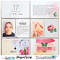 Dt passion scrap- 2 pages de pl