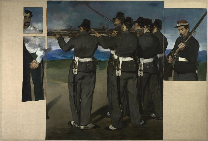 Edouard Manet, 'The Execution of Maximilian', about 1867-8