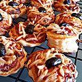 Minis croissants et minies pizzas pour l'apéritif 041