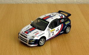 Ford focus WRC de chez Cararama au 1