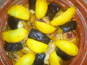 Tajine poulet aubergine 2