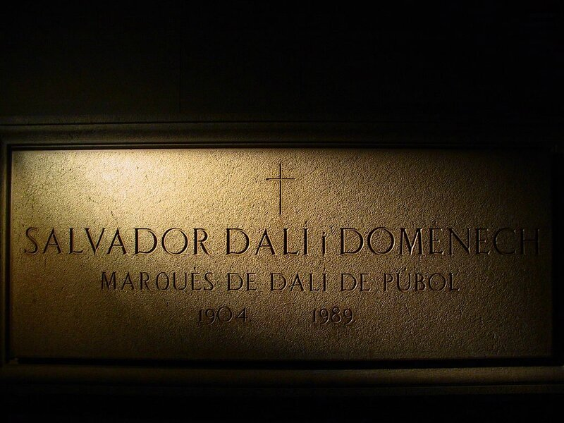 Tombe Salvador Dali 2