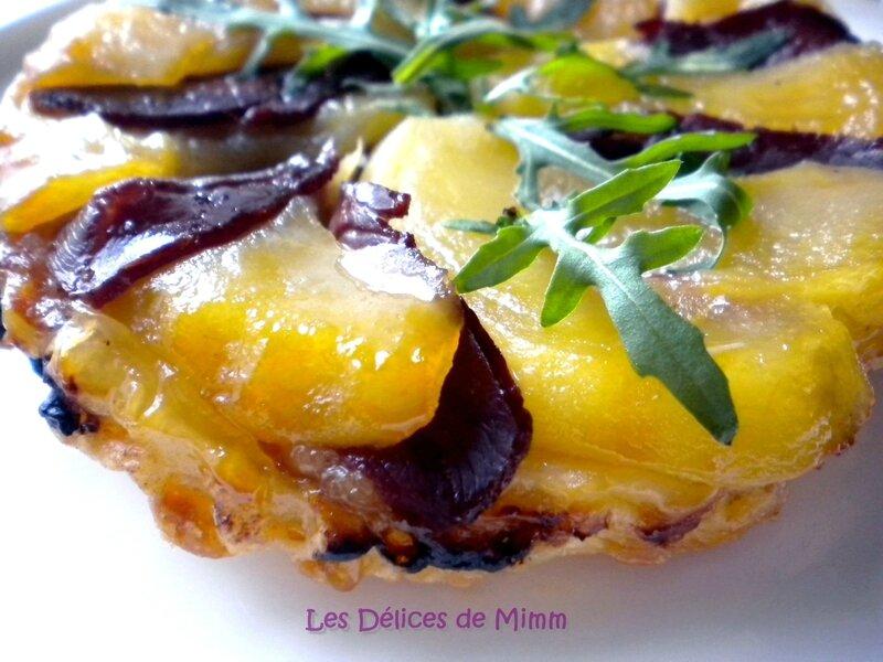 Tartelette Tatin au magret de canard et au piment d'Espelette 5