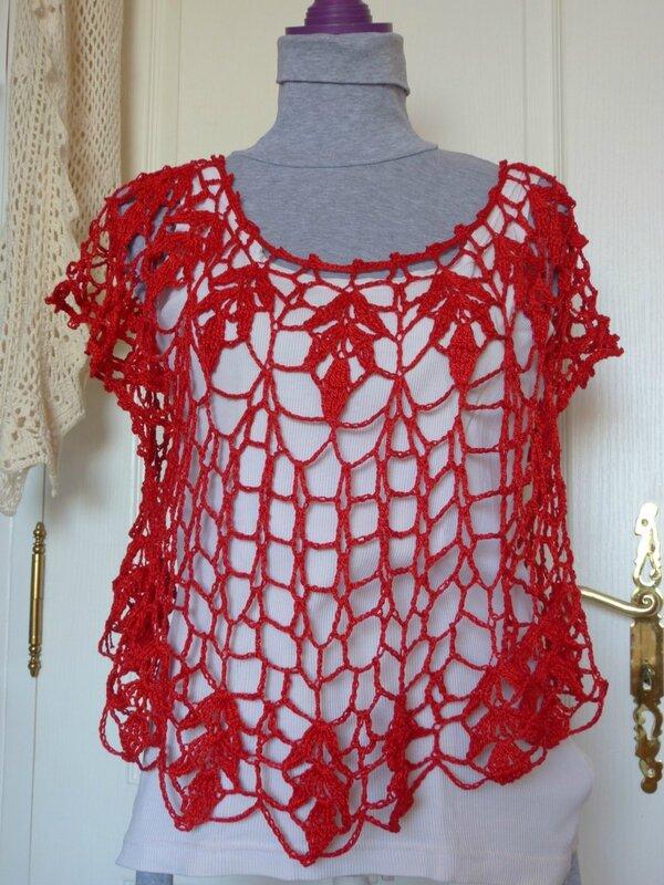 tunique crochet