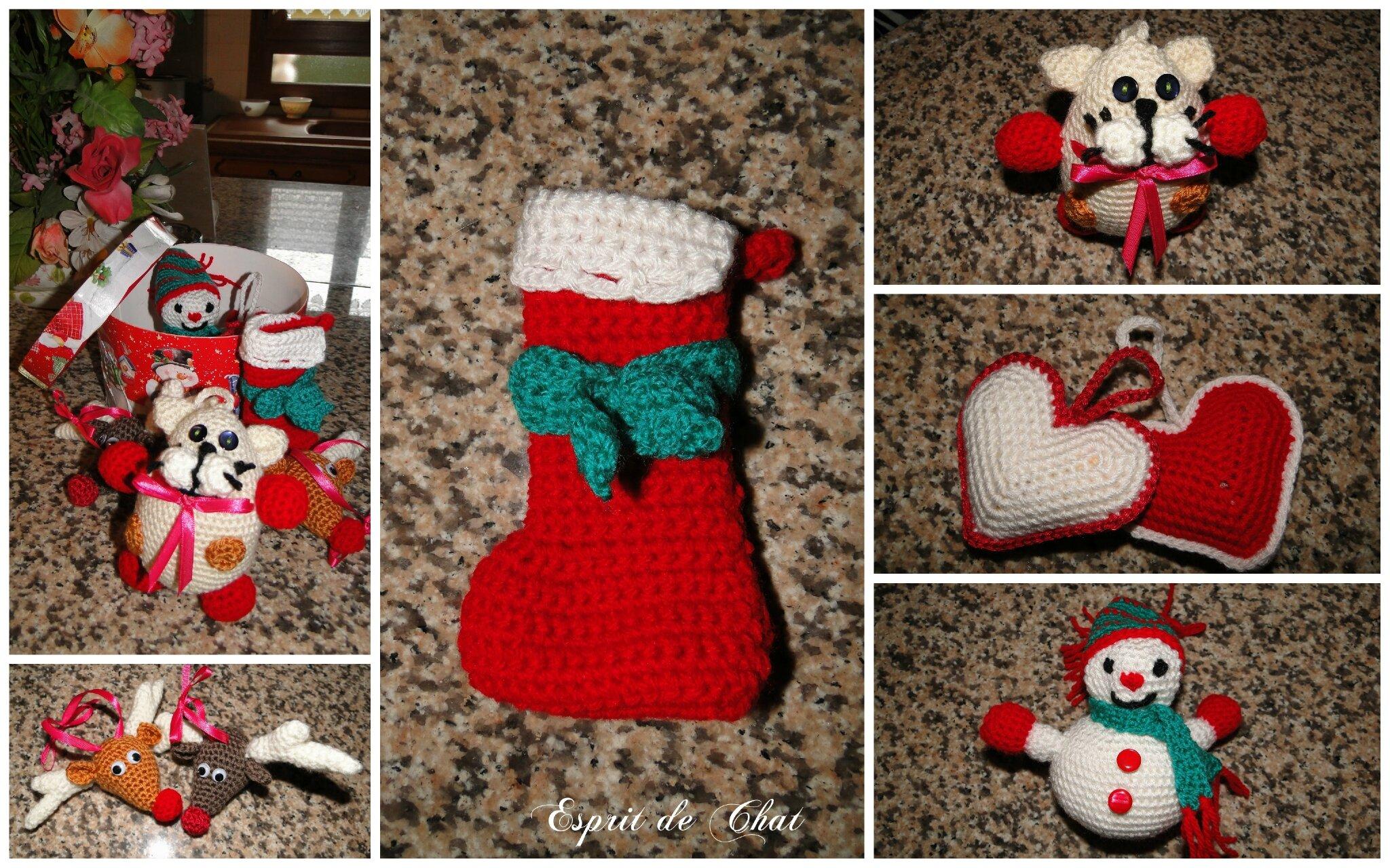 Deco Noel Crochet.Tuto Deco Noel Au Crochet Hotel De Nice