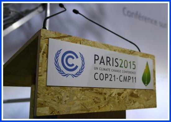 COP 21 tribune
