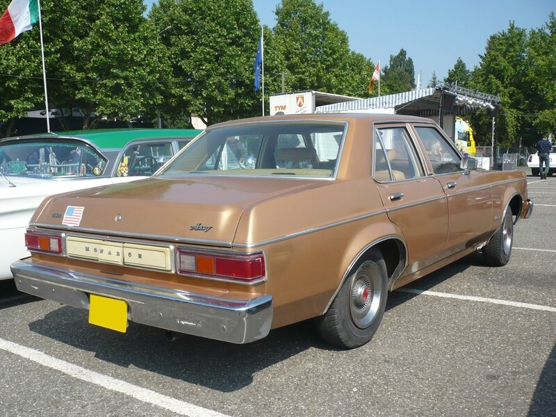 MERCURY Monarch 4door Sedan 1977 Illzach (2)