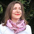 Snood foulard circulaire printemps-eté