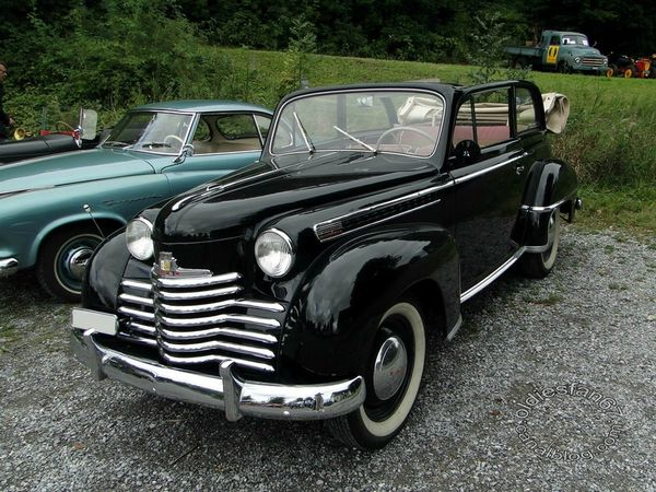 opel olympia decouvrable 1950 1953 a