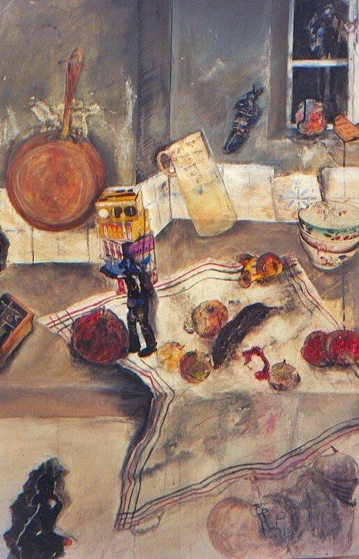 Mémoires d'Enfance/ la cuisine - 2005