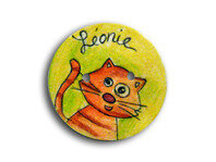 bouton-chat-turquoise-prenom-personnalise0