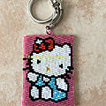 Porte-clé hello kitty