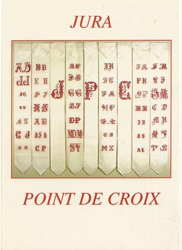 Bannière des initiales rouges