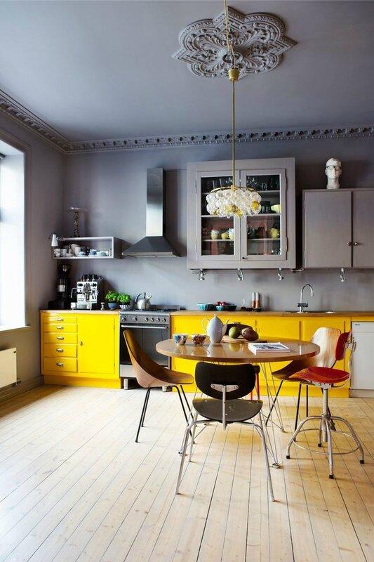 cuisine-grise-et-jaune-deco
