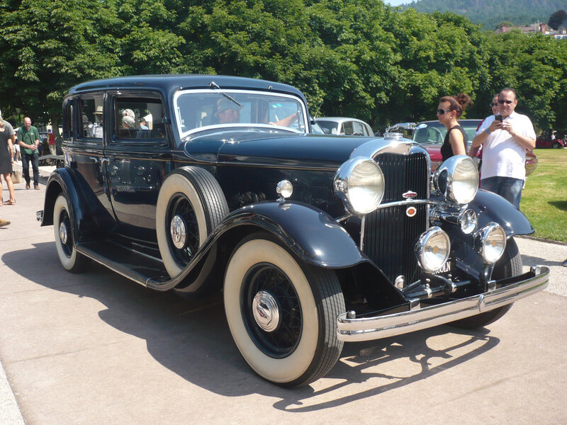 LINCOLN K-series 4door Sedan 1932 Baden Baden (1)