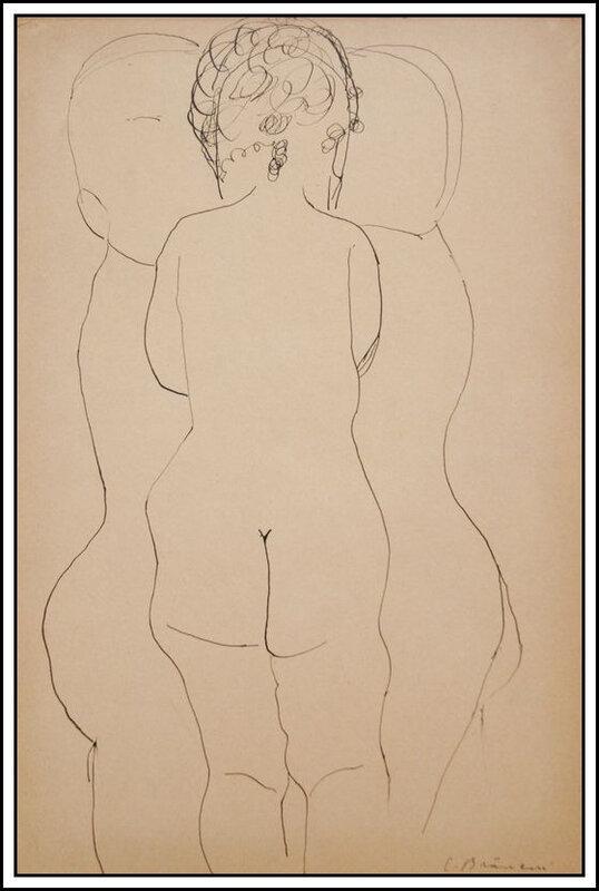 Brancusi - trois enfants - 1924