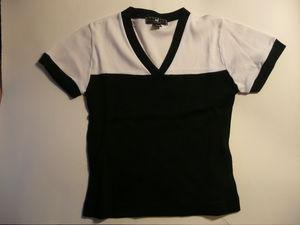T_shirt_MC_V_noir_blanc_NafNaf_1