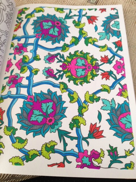 Coloriage Adulte Fini.Art Therapie Coloriages Finis Les Passions D Emilie