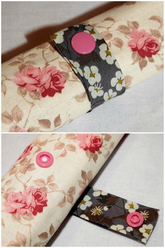 trousse roulee fleurs roses languette mitsi gris1