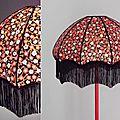 Abat-jour pour lampadaire en papier japonais
