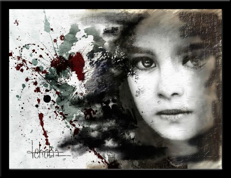 splatters of violence