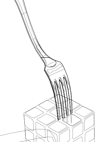 Fouchette - contours