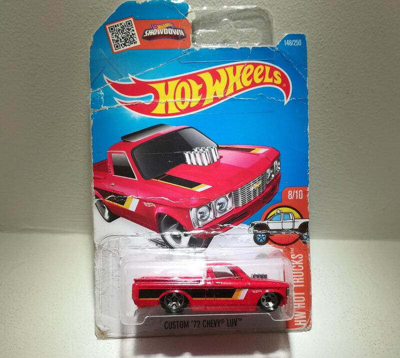 Chevrolet Chevy LUV custom de 1972 (Hotwheels)