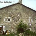 Maison-forte de Raclaz (Dingy)