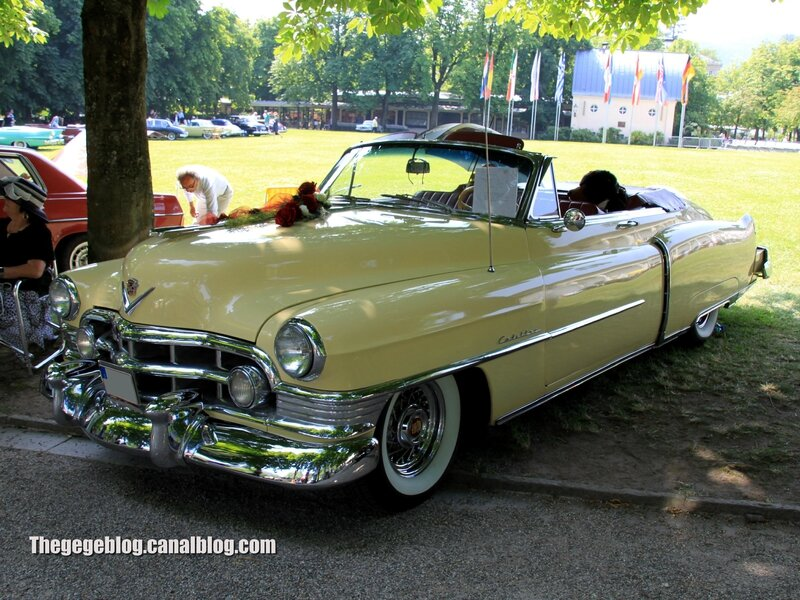 Cadillac serie 62 convertible de 1950 (37ème Internationales Oldtimer Meeting de Baden-Baden) 01