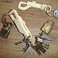 Des anciennes clefs misent en valeur...