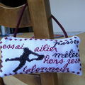 coussin rugby dos