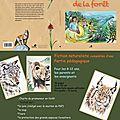 Présentation Le secret de la forêt Ghislaine Letourneur Editions Sépia BD