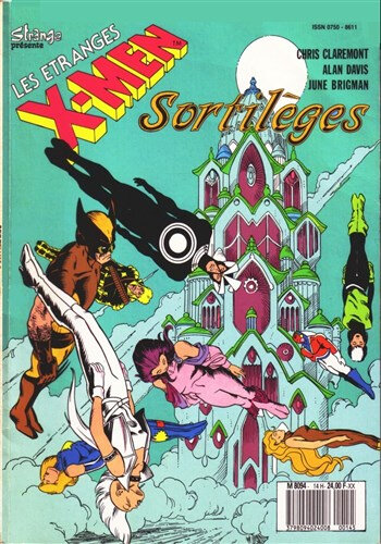 lug étranges x-men 14 sortilèges