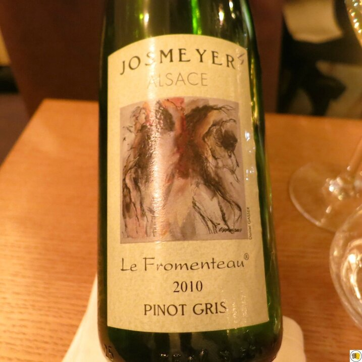 Pinot gris Josmeyer Le Fromenteau 2010