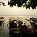 Barques sur le lac de l'est