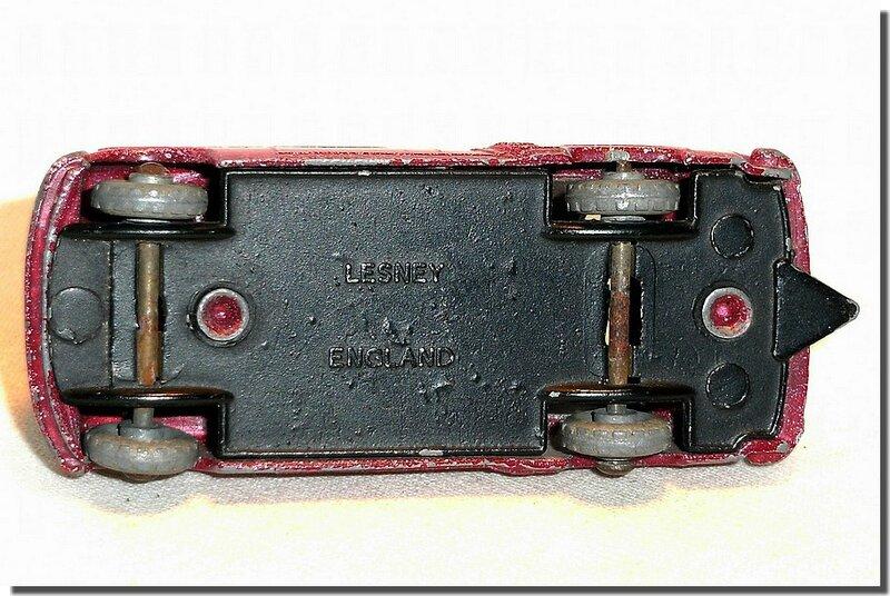 Lesney Matchbox 22 A Vauxhall Cresta 1956 A 5