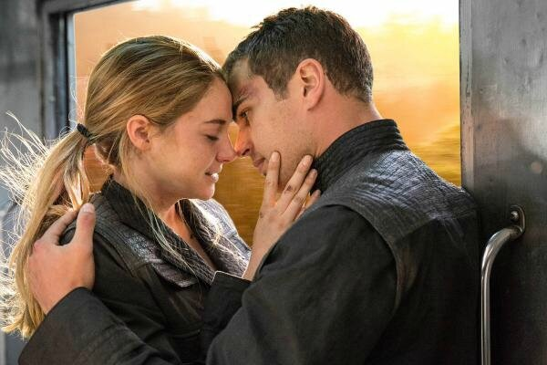 Tobias and Tris02 Divergent movie