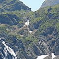 Gourette, J les Trois lacs, cheminée, passage conduite forcée, zoom