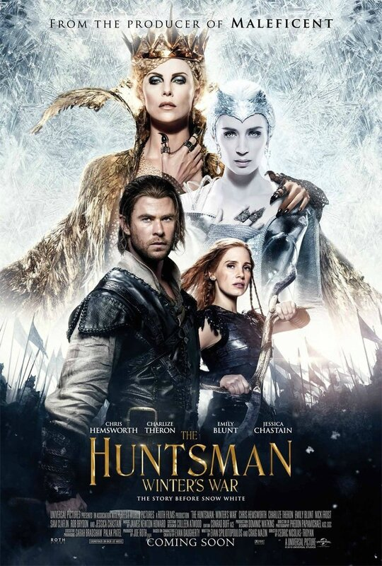 The Huntsman_Winter's War poster