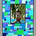 Miroir et porte-colliers